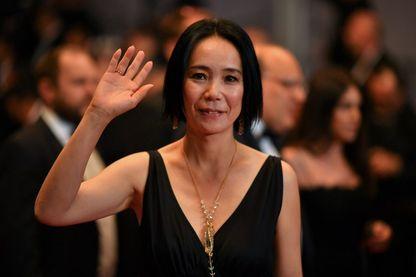 Naomi Kawase, réalisatrice et écrivaine le 26 mai 2017 au Festival de Cannes.