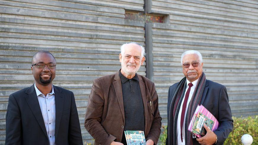 Père Mathurin, Michel Serfaty et Mohamed Touhami oeuvrent chaque jour pour cultiver la tolérance à Ris Orangis