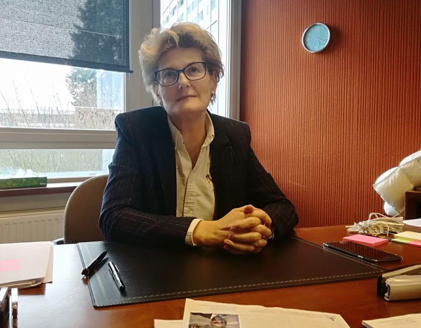 Maître Carole Huguet, bâtonnière de l'ordre des avocats de Montbéliard