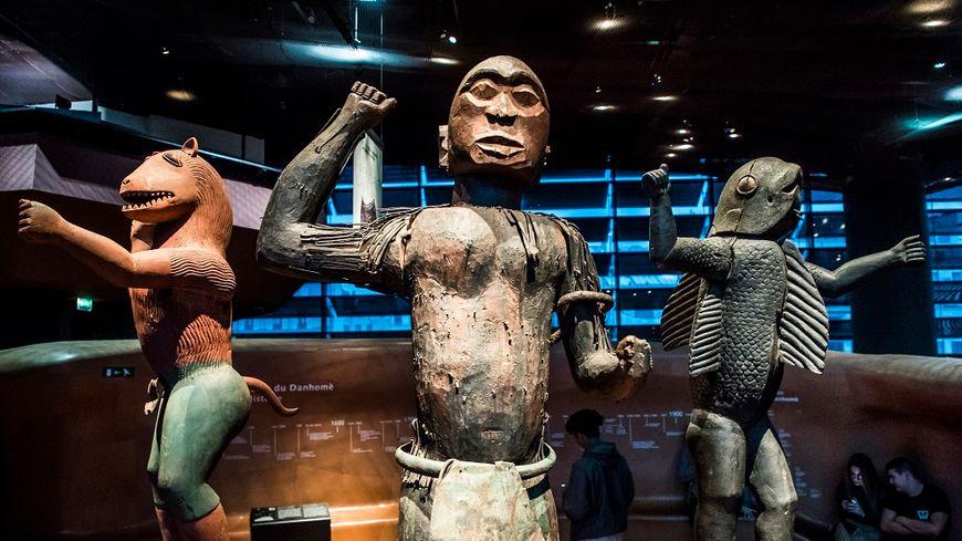 Les statues royales d'Abomey, propriétés du musée du Quai Branly, vont être rendues au Bénin