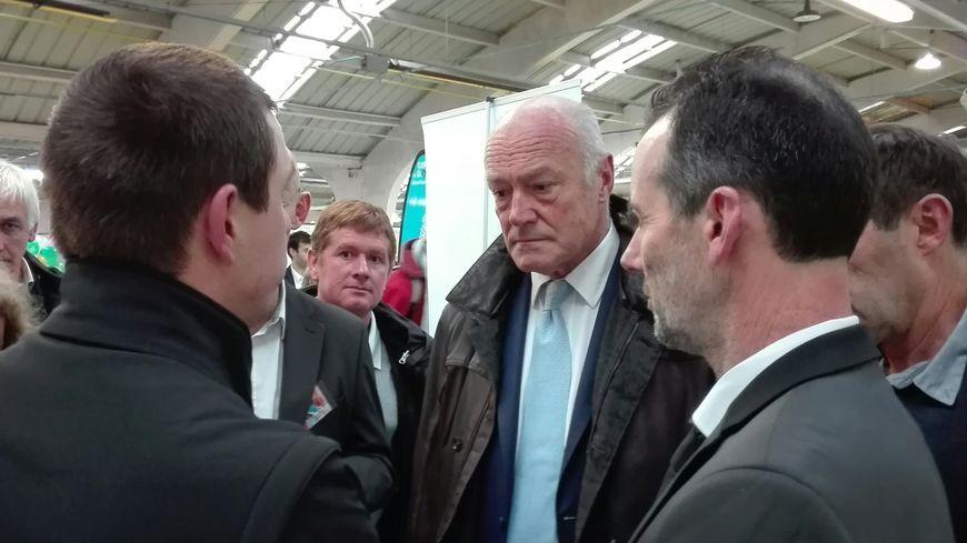 Alain Rousset, président de Nouvelle-Aquitaine était en visite à Capr'Inov ce mercredi