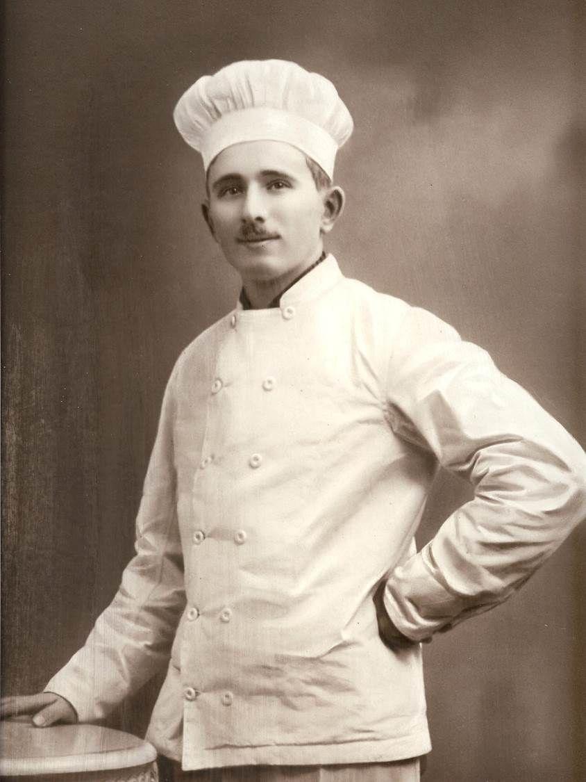 René Besse, le grand père de Bernard