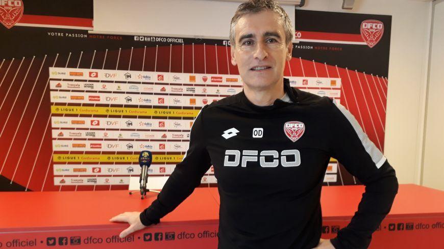 Olivier Dall'Oglio l'entraîneur du DFCO