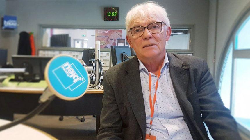 Gérard Ribeyron, président de la Banque Alimentaire dans la Loire