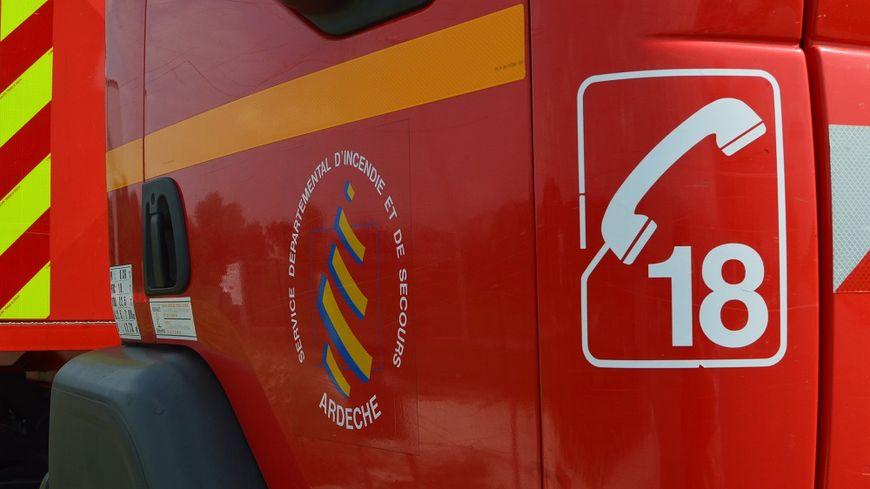 Un gros disposif a été déployé par les pompiers sur place