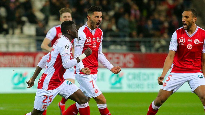 Xavier Chavalerin a inscrit le premier but rémois dès la 2e minute.