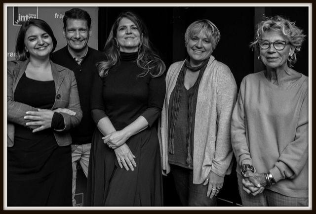Victoire Tuaillon, Vincent Josse, Agnès Jaoui, Véronique Cerasoli et Catherine Billard