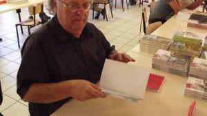 """Jean Claude Barbeaux a écrit également """"1968"""" sur les événements en Franche Comté"""