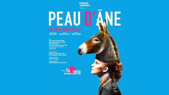Affiche Peau d'Âne au Théâtre Marigny