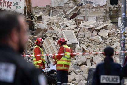 Les recherches se poursuivent à Marseille après l'effondrement de plusieurs immeubles