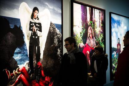 """Œuvres du photographe et réalisateur américain, David LaChapelle, sur la figure de Michael Jackson : à retrouver dans l'exposition """"Michael Jackson : On the Wall"""", l'exposition au Grand Palais"""