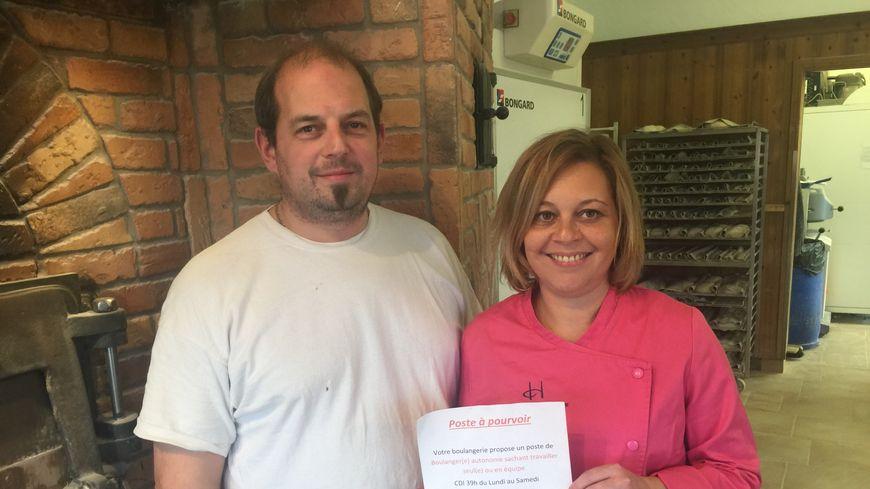 Guillaume et Audrey Hanss recherchent deux boulangers depuis le mois d'août