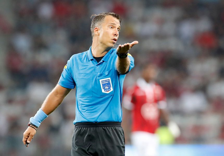 Johan Hamel arbitrera le Stade de Reims pour la deuxième fois cette saison.