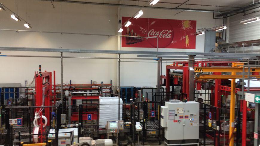 L'usine Coca-Cola de Castanet-Tolosan fabrique 10% des sodas du groupe en France