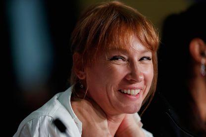Emmanuelle Bercot, réalisatrice, scénariste et actrice à Cannes au Festival.