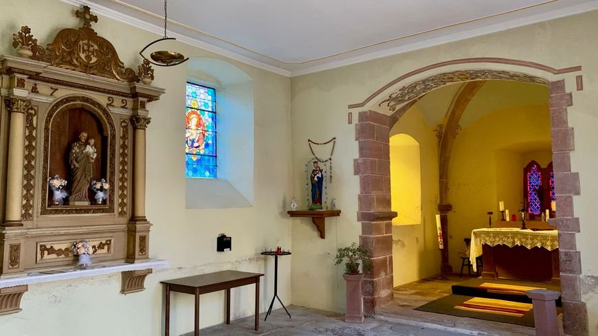 Kuttolsheim, chapelle Ste Barbe