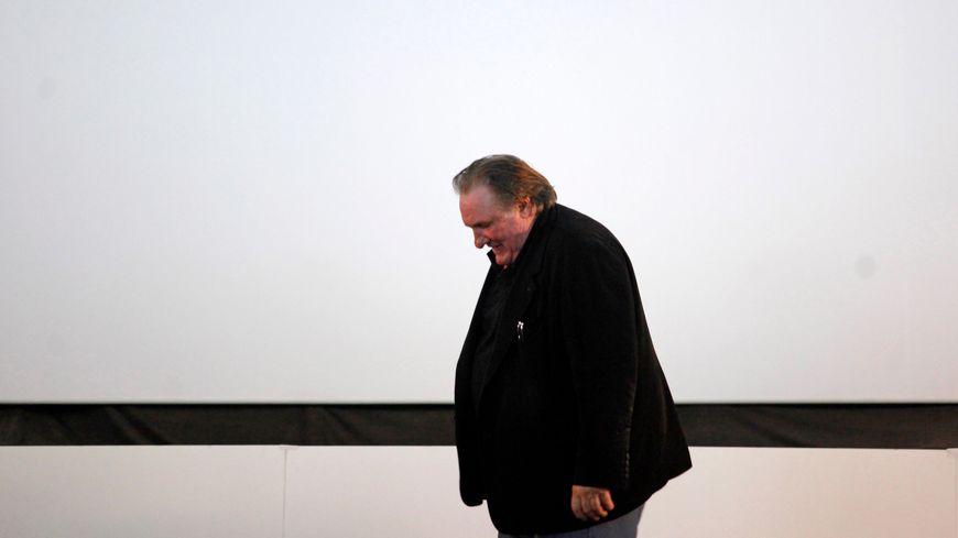 Gérard Depardieu, en novembre 2016 au Portugal.