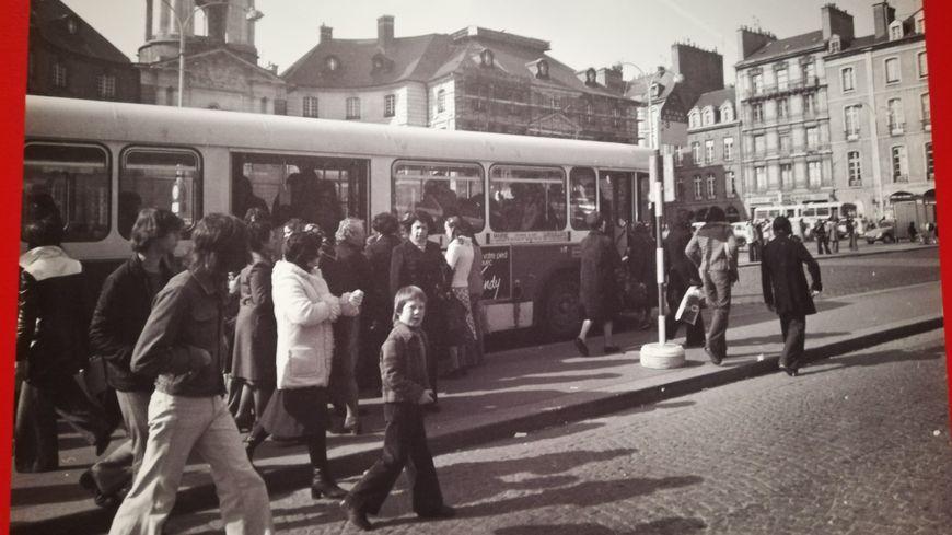 L'exposition retrace à travers des photos les évolutions de la ville