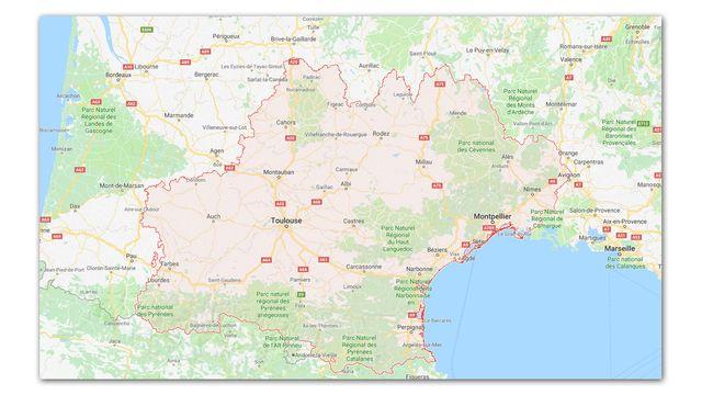 L'Occitanie est la 2e plus grande région de France métropolitaine.