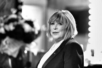 Marianne Faithfull dans les coulisses de l'Olympia à Paris en novembre 2014