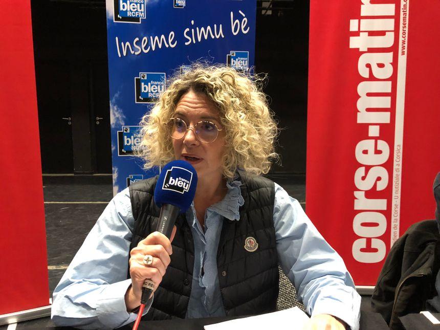 Marie Luce Castelli, conseillère technique Biodiversité, Office de l'Environnement