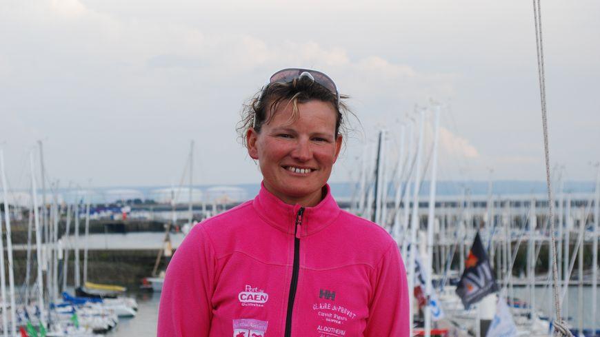 Le voilier de Claire Pruvot est entré en collision avec un cargo