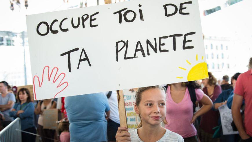 En septembre à Marseille, l'une des marches pour le climat.