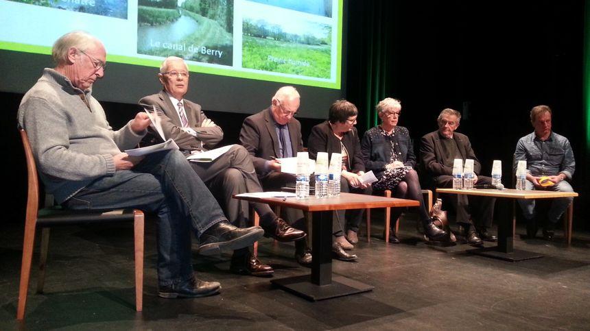 Les élus en charge de ce projet de nouveau parc naturel régional à cheval sur l'Indre et le Cher