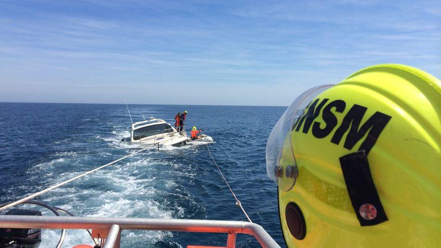 L'équipage des sauveteurs en mer du Cap d'Agde dans une intervention périlleuse