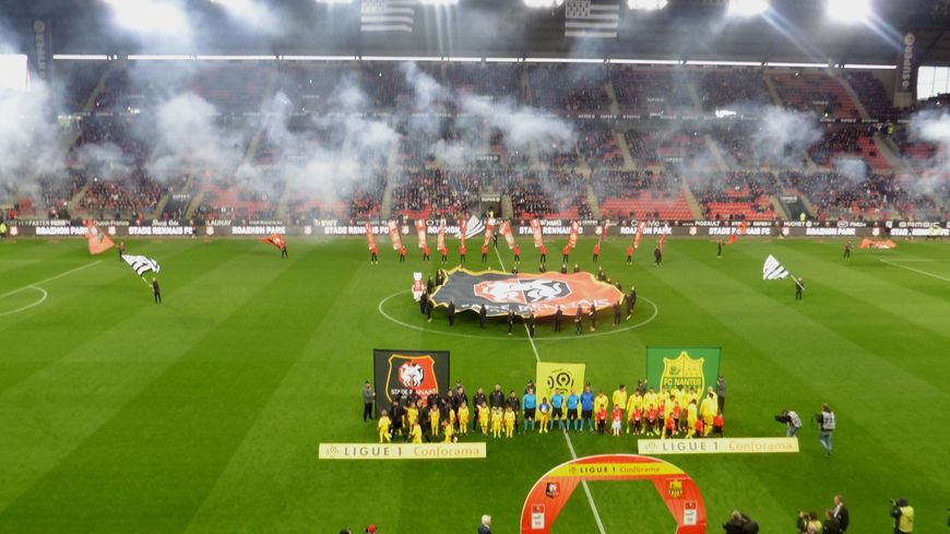 Devant 600 supporters nantais, les Canaris ont arraché le nul (1-1) à Rennes.