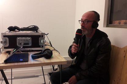Didier, sans abri, apprenti journaliste