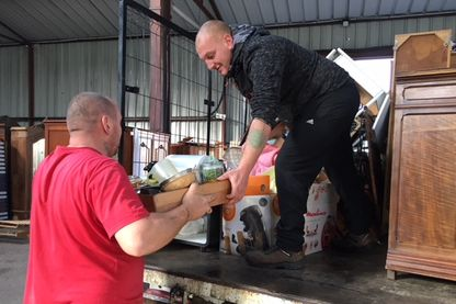 """A la recyclerie de Prémery (Nièvre), une des activités créées dans le cadre de l'expérimentation """"Territoires zéro chômeur longue durée"""""""