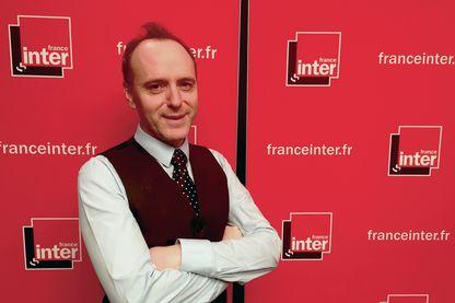 Philippe Collin, producteur de l'émission L'Œil du tigre sur France Inter et écrivain