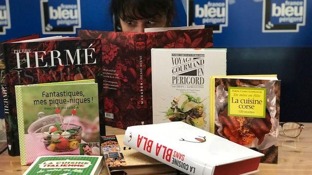 livre salon international du livre gourmand à Perigueux
