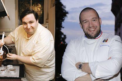 Philippe Conticini et Guillaume Gomez