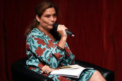 Héloïse d'Ormesson, lors de la soirée hommage à l'Académicien Jean d'Ormesson : écrivain et philosophe, décédé le 05 décembre 2017 (festival Le Livre sur la Place, Nancy, 06 septembre 2018).