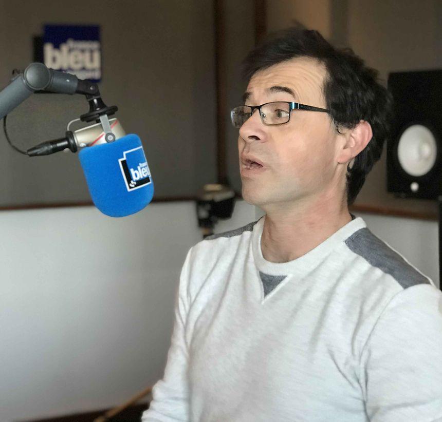 Laurent en studio