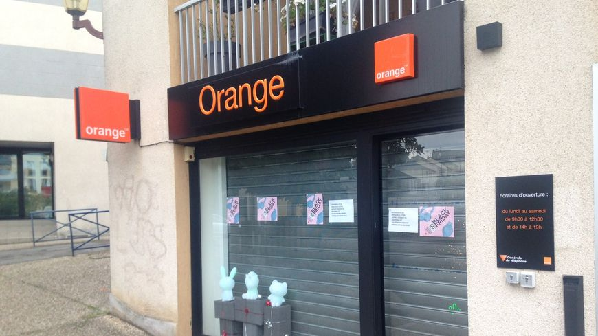 La boutique Orange de Mayenne braquée le vendredi 23 novembre 2018