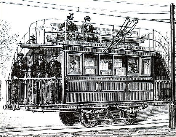 Le 1er tramway parisien