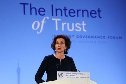 Discours d'Audrey Azoulay, Directrice générale de l'UNESCO, au Forum sur la gouvernance de l'Internet