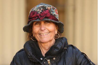 Paula Rego, lors d'une cérémonie d'investiture au palais de Buckingham, le 20 octobre 2010 à Londres.
