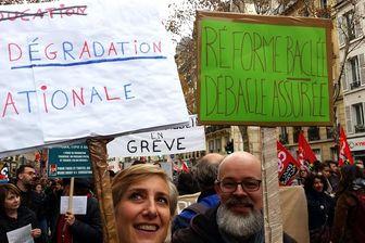 Plusieurs centaines d'enseignants ont défilé à Paris