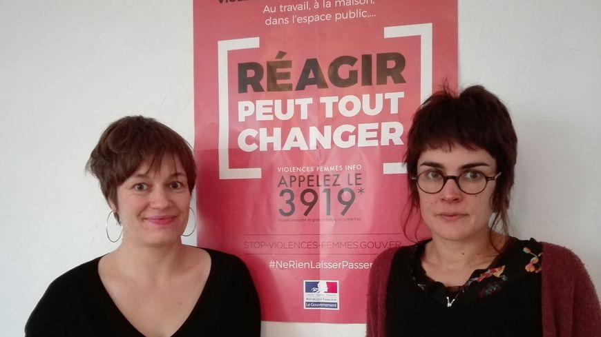 Cécile Malfray, co-présidente du planning familial des Deux-Sèvres participera à la marche à Paris. Marie Mazaudou, animatrice de la structure sera à Niort
