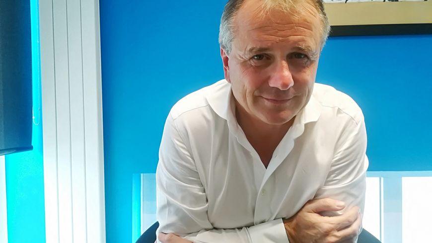 Gilles Sergent,  le président du SM Caen, invité de Allo Malherbe