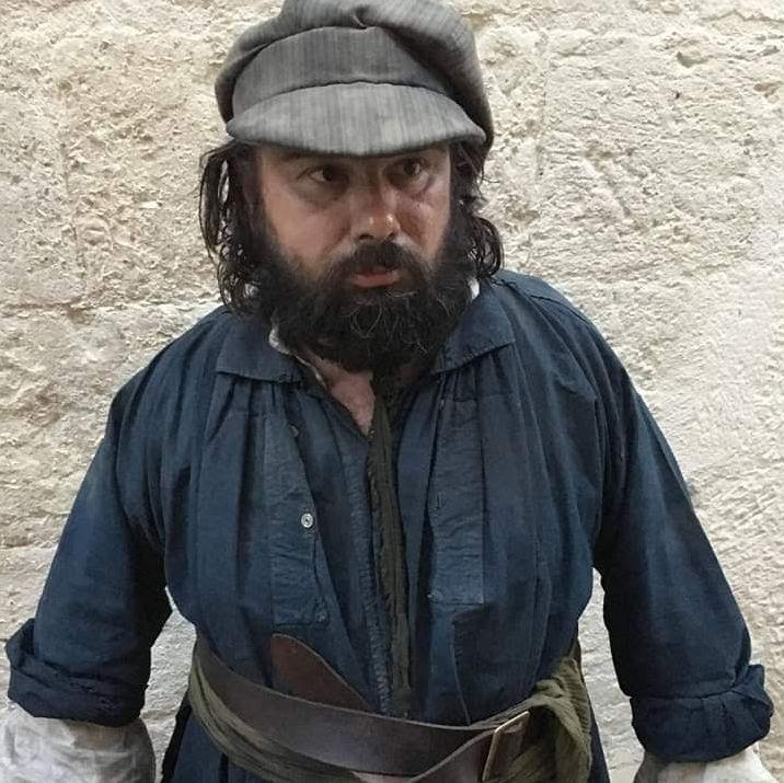 Cyril Duverdier dans son costume de figurant