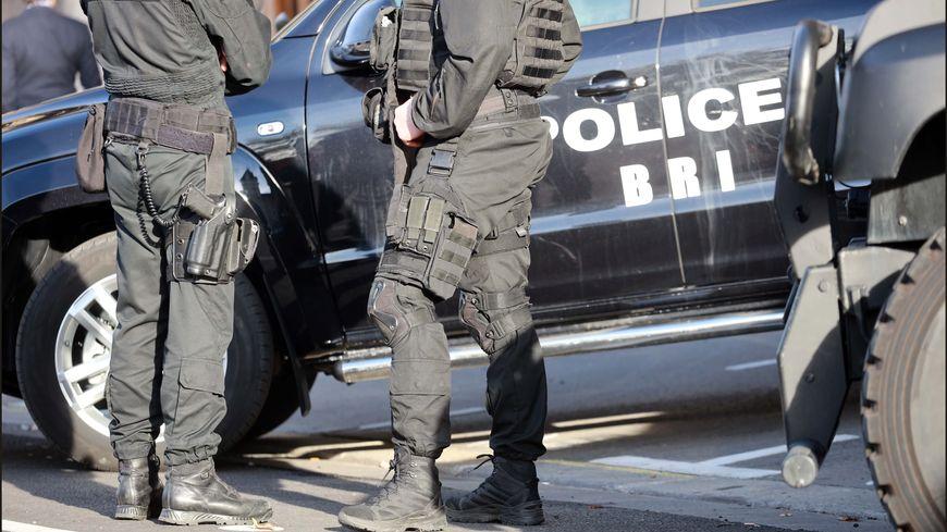 Des policiers de la BRI (Brigade de Recherche et d'Intervention) ont participé aux interpellations en Lorraine, ici la BRI de la Préfecture de police de Paris