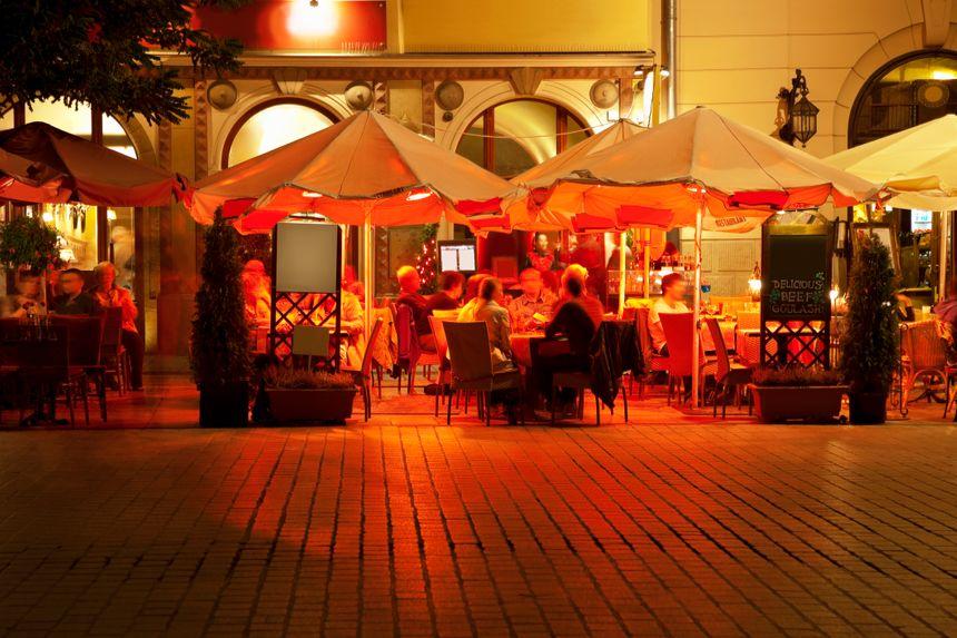 Cracovie, la nuit