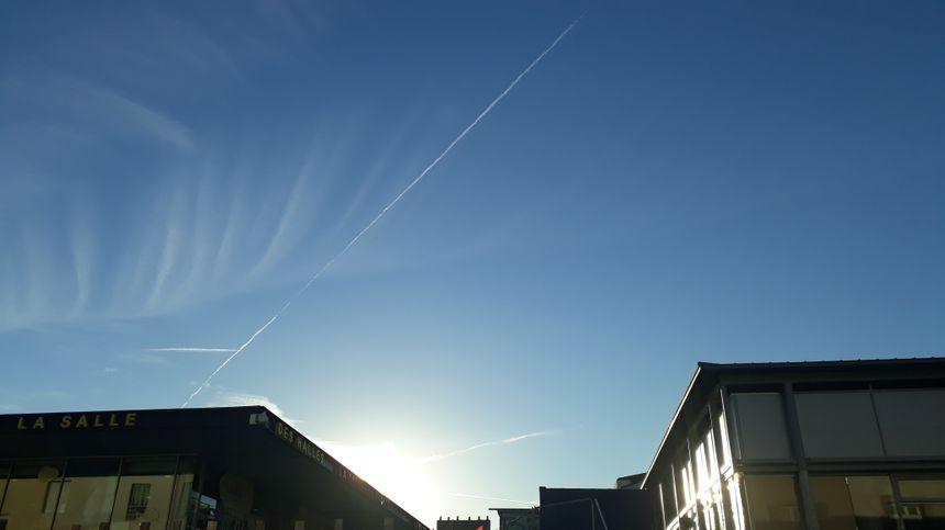 Le ciel de la Roche-sur-Yon, ce vendredi 2 novembre