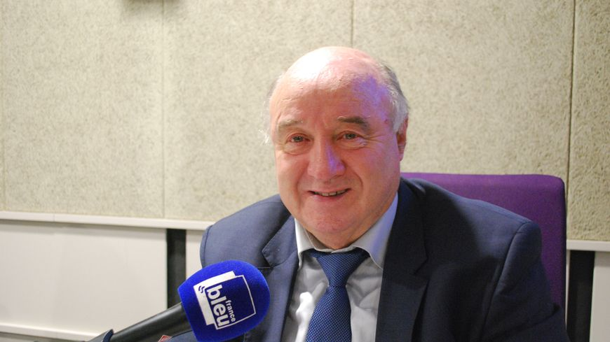Pierre Leresteux, le président de la Ligue de Football de Normandie