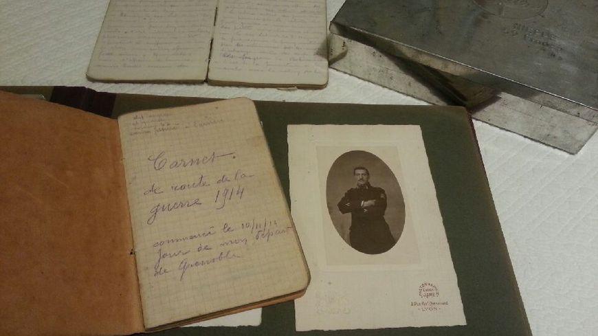 Les carnets de route d'un poilu de 14/18 retrouvés par ses descendants
